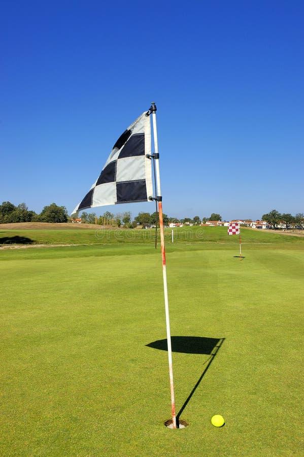 Het zetten van de golfbal royalty-vrije stock foto's