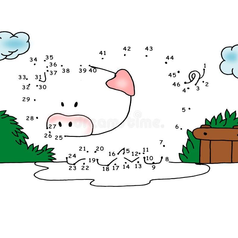 Het zevende spel, fusiepunten vector illustratie
