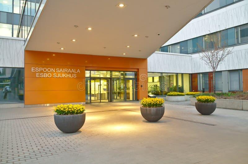 Het ziekenhuis van Espoo royalty-vrije stock afbeeldingen