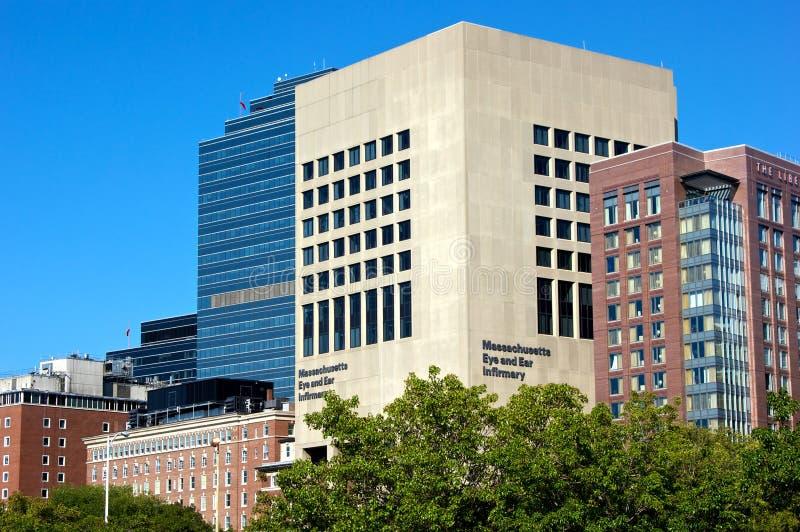 Het ziekenhuis van het oog en van het oor royalty-vrije stock fotografie