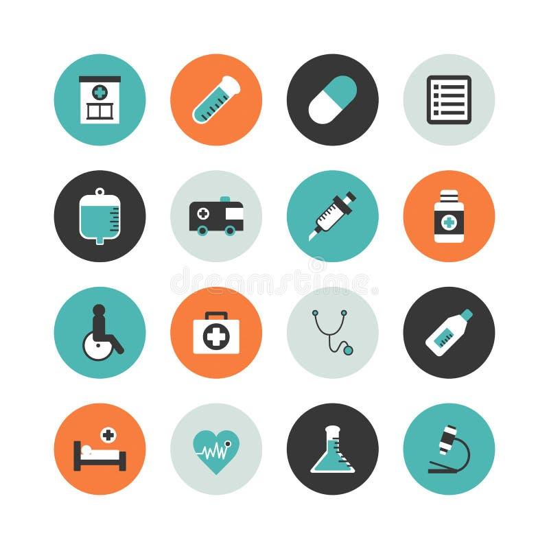 Het ziekenhuispictogram stock illustratie
