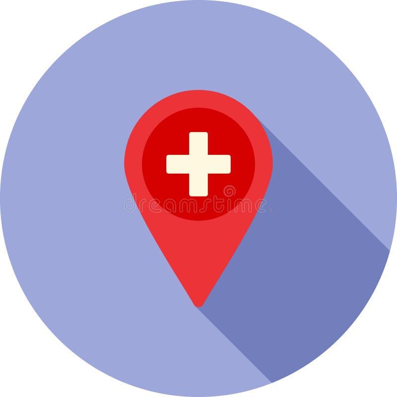 Het ziekenhuisplaats vector illustratie