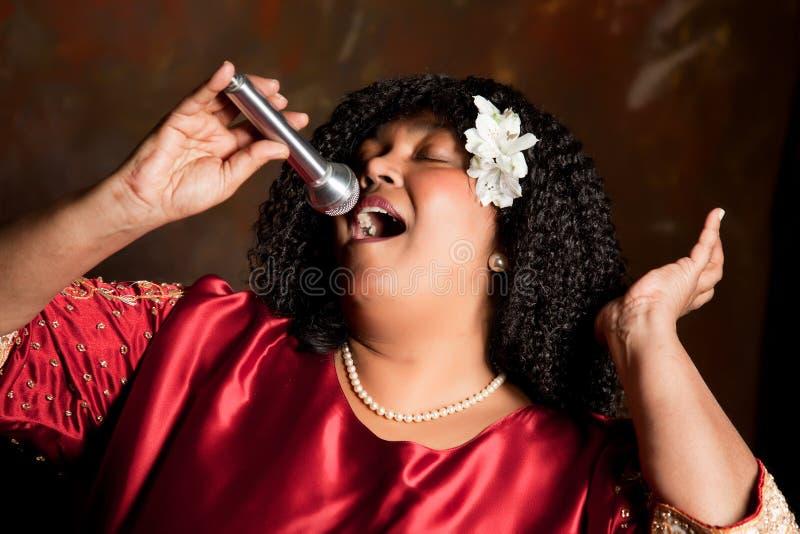Het zingen voor Lord royalty-vrije stock foto