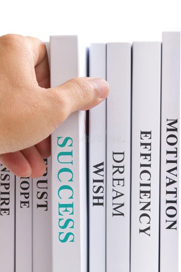 Het zoeken van succes. royalty-vrije stock afbeelding