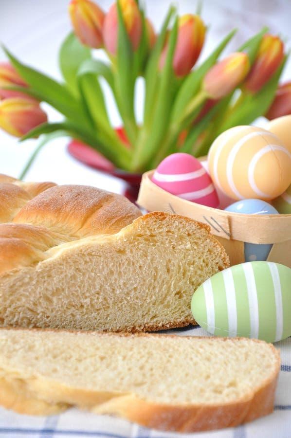 Het zoete Duitse Brood van Pasen royalty-vrije stock fotografie