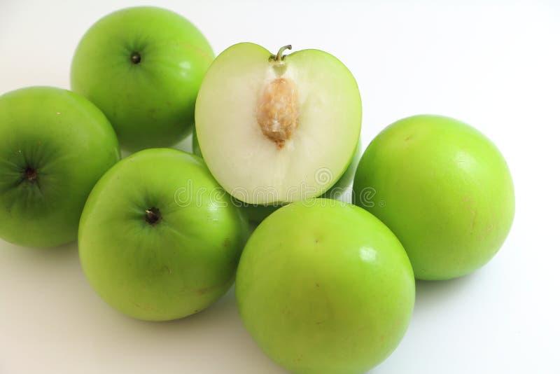 Het zoete fruit van de aapappel stock foto's