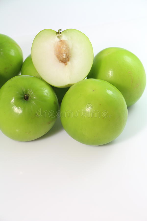 Het zoete fruit van de aapappel stock afbeelding