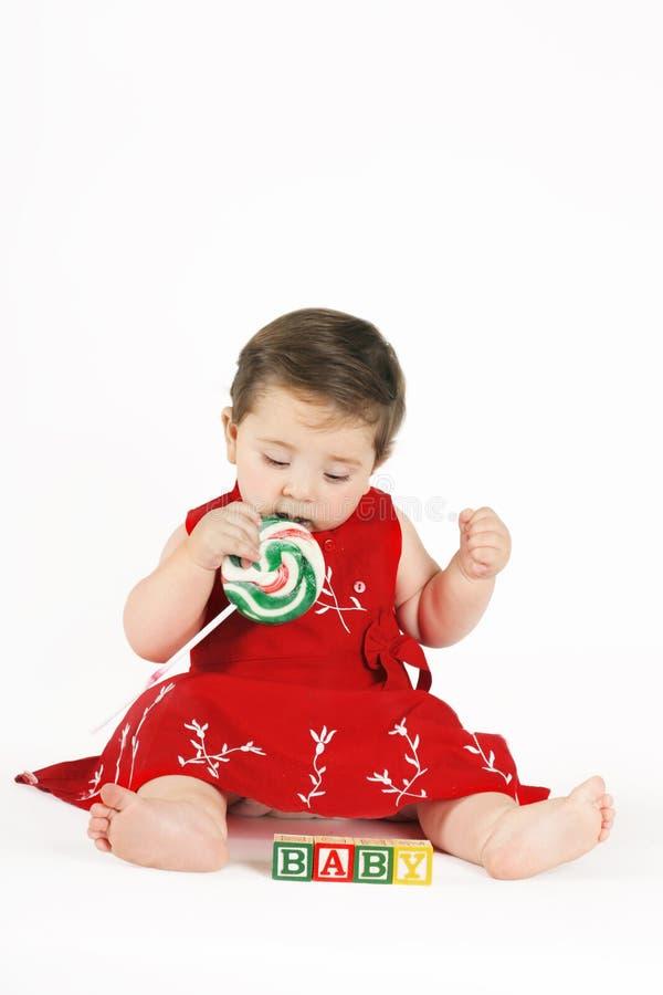 Het zoete Meisje van de Baby royalty-vrije stock foto's