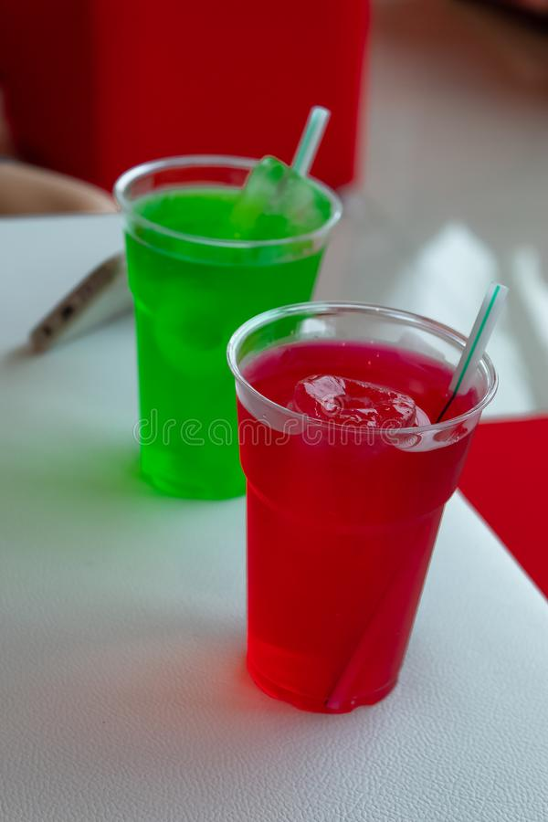 Het zoete water, verfrissende drank, ontspant stock foto's