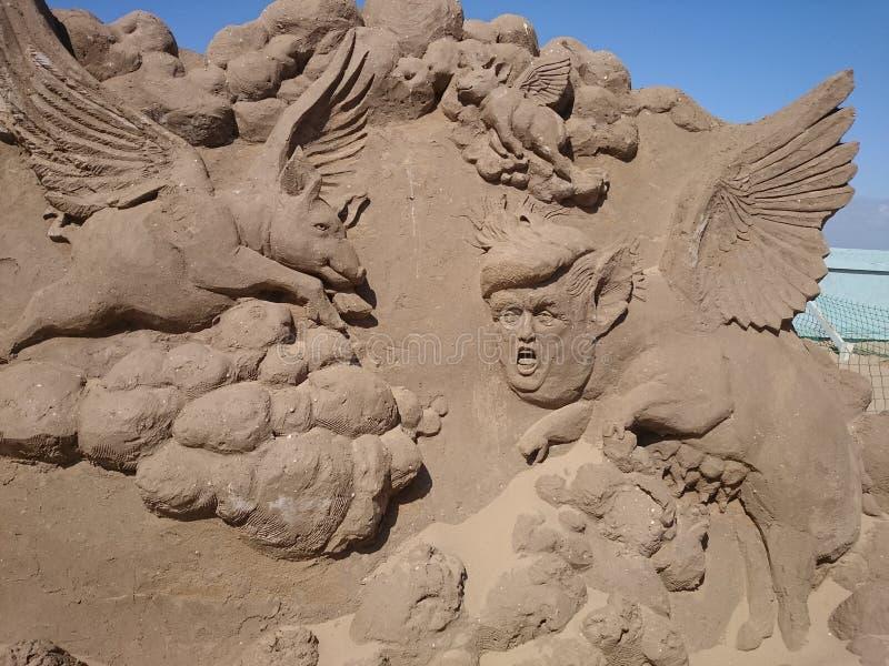 Het zuiden van Engeland van het zandfestival royalty-vrije stock foto