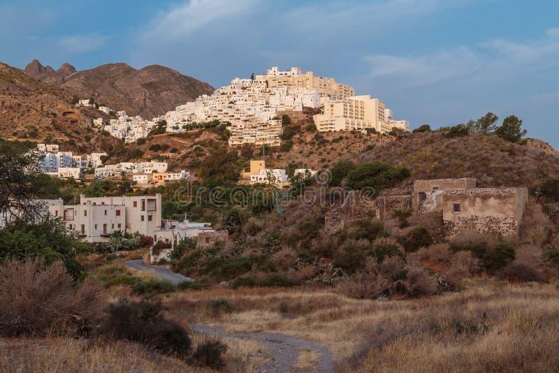 Het Zuiden van Mojacarpueblo van Spanje royalty-vrije stock afbeelding