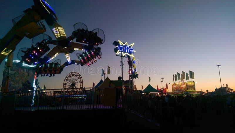 Het Zuidoosten Texas State Fair stock afbeeldingen