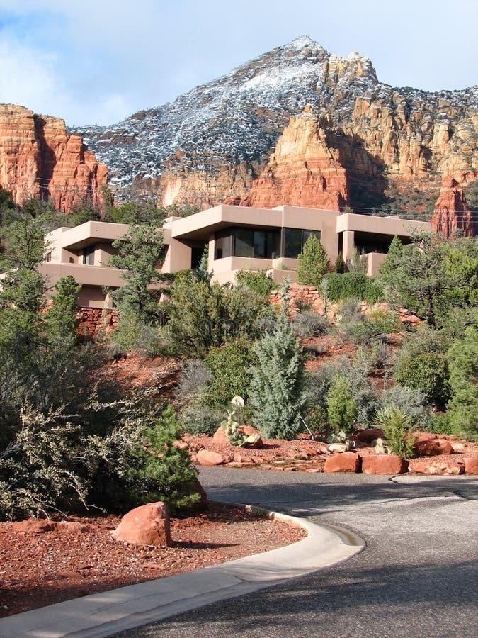 Het zuidwestelijke Huis van de Adobe royalty-vrije stock afbeeldingen
