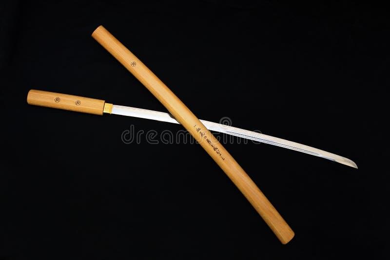 Het zwaard van samoeraien royalty-vrije stock foto's