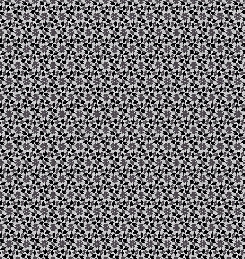 Het zwart-witte behang van het sterpatroon stock foto's