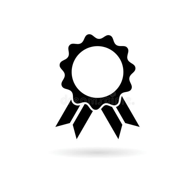 Het zwarte pictogram van het Bestsellerlint vector illustratie