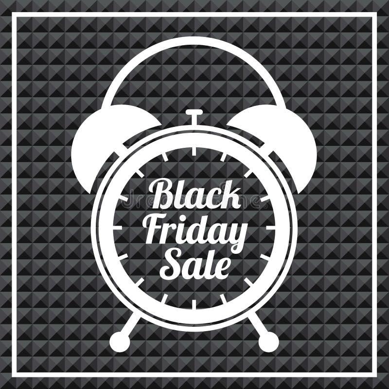 Het zwarte Pictogram van de Vrijdag stock illustratie
