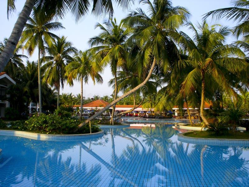 Zwembad, stock afbeelding