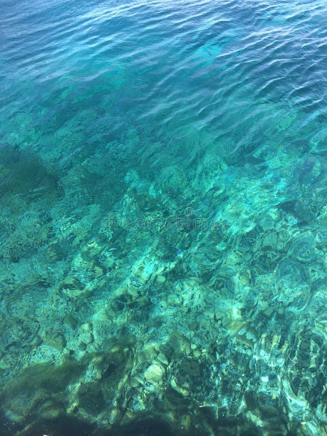 Het Zwembad van het ArtisianBronwater royalty-vrije stock afbeelding