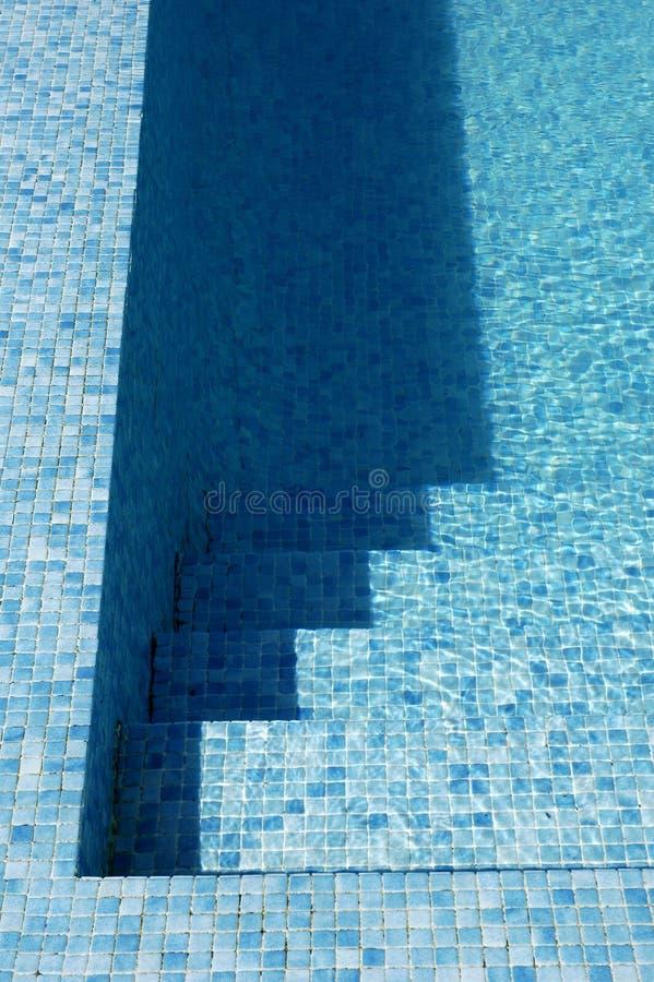 Het zwembad van het hotel stock foto