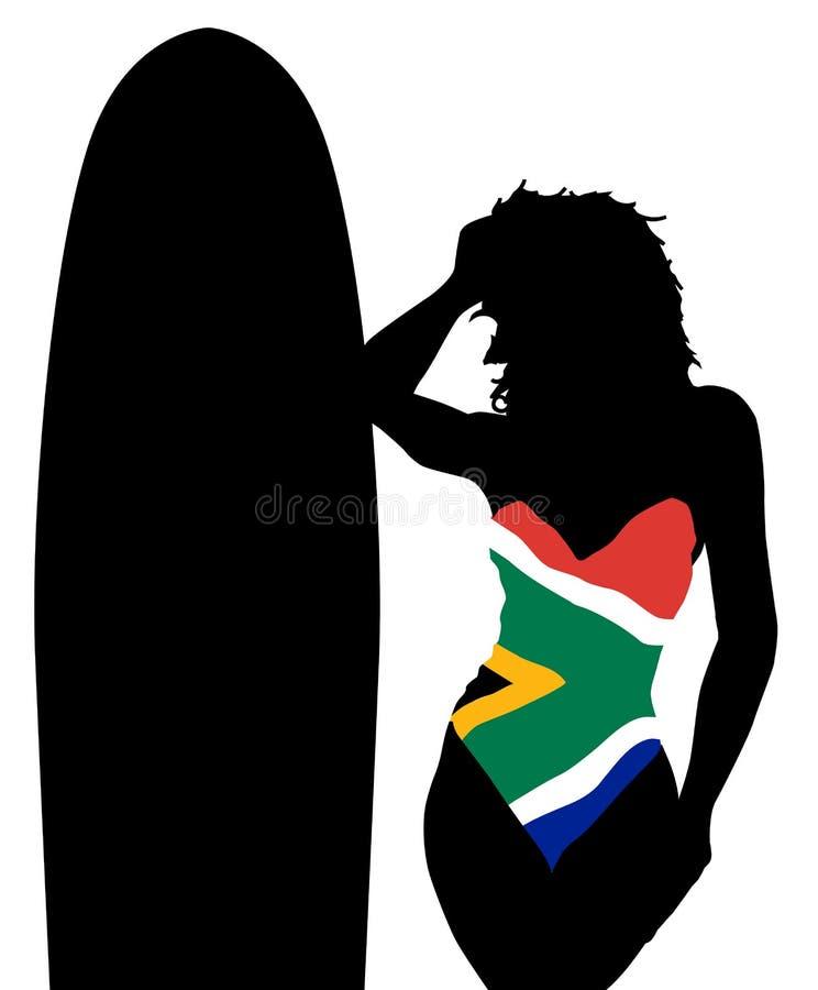 Het Zwempak van Zuid-Afrika vector illustratie