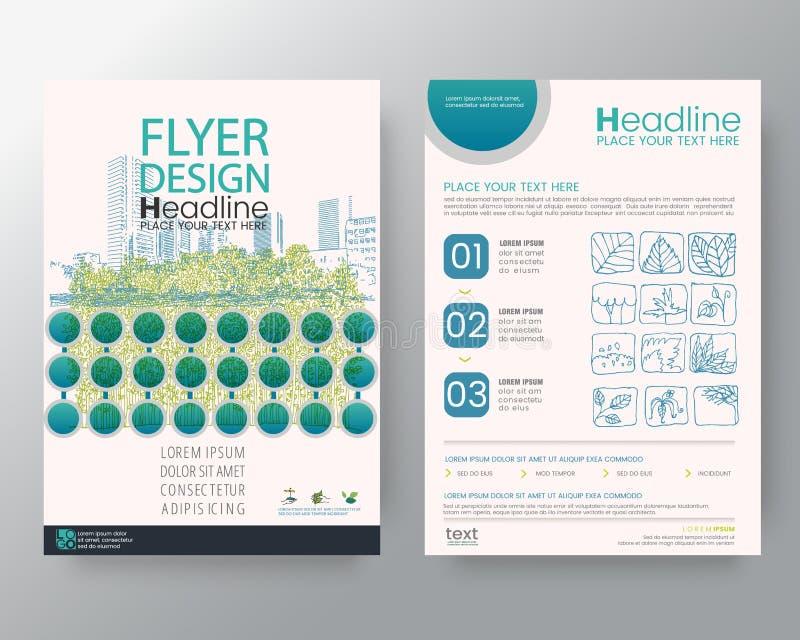 Het Zwitserse van de de Brochurevlieger stijl van de achtergrondmalplaatjeaffiche Vectormalplaatje van de het ontwerplay-out in A vector illustratie