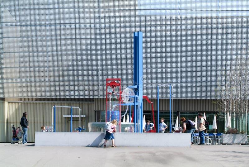 Het Zwitserse Wetenschapscentrum Technorama in Winterthur, Zwitserland royalty-vrije stock afbeeldingen