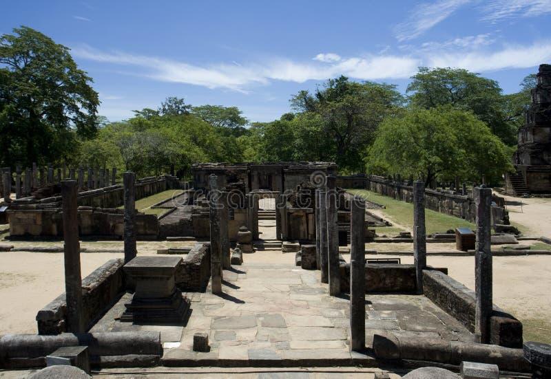 hetadage lanka polonnaruwa sri obraz stock