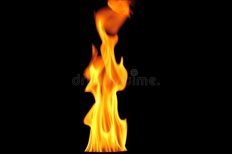 Hete brandachtergrond royalty-vrije stock afbeelding