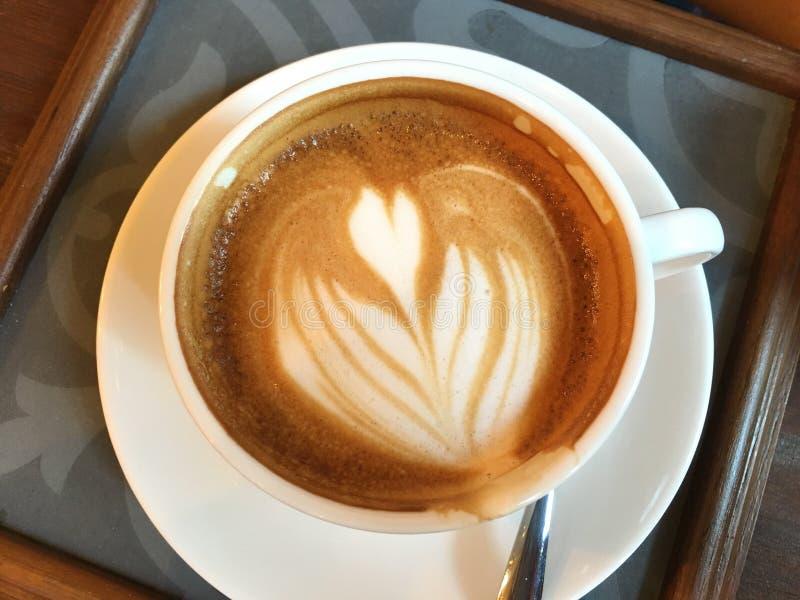 Hete cappuccino's royalty-vrije stock foto