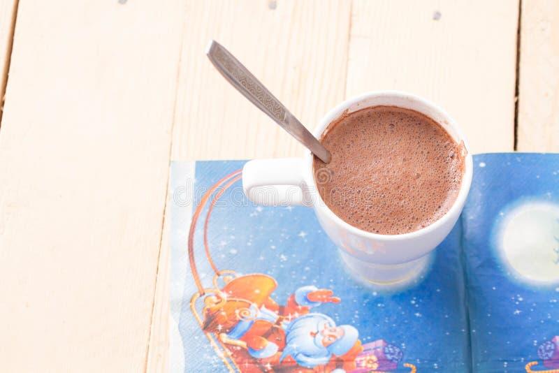Hete Chocolade royalty-vrije stock afbeelding
