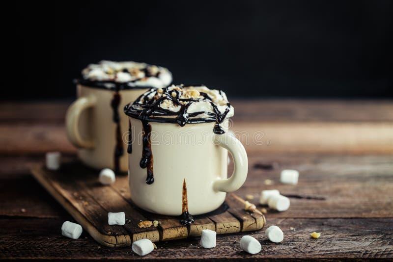 Hete Chocolade royalty-vrije stock fotografie