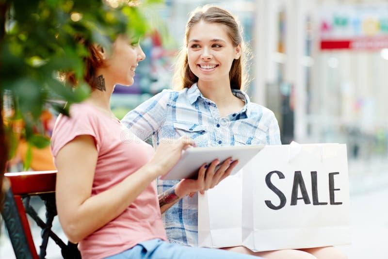 Hete e-verkoop stock fotografie