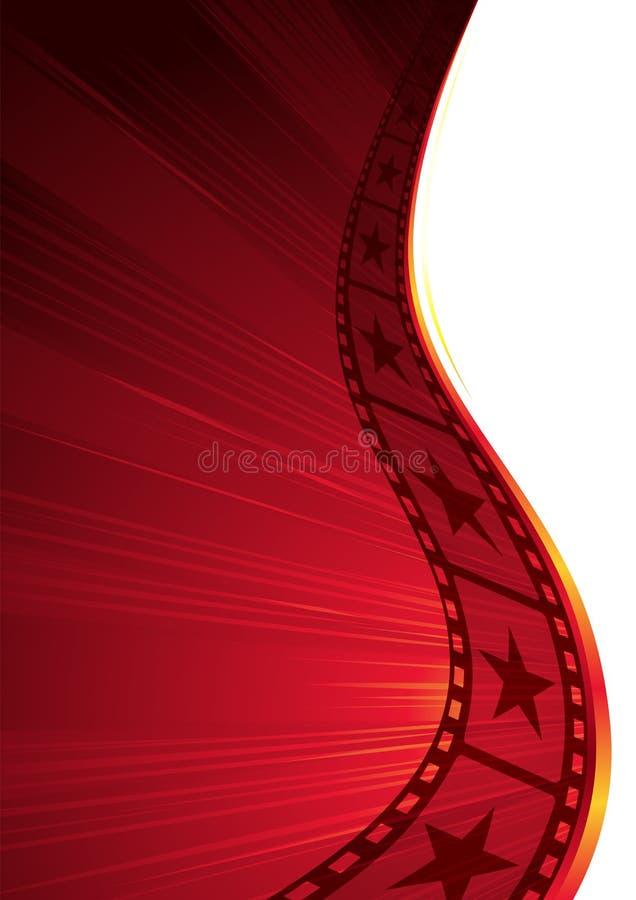 Hete film stock illustratie