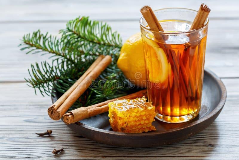 Hete gekruide thee royalty-vrije stock afbeelding