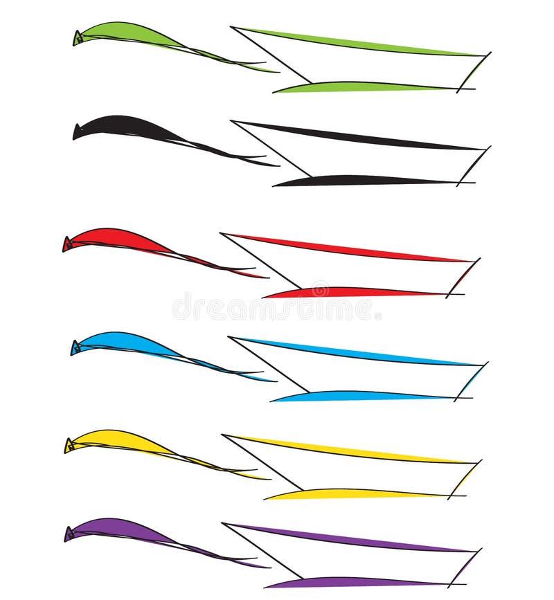 Hete kleurenpan voor keuken stock afbeelding