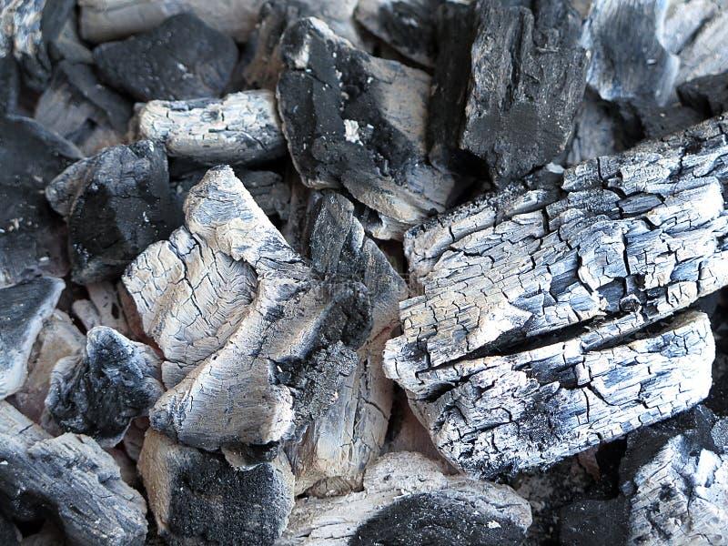 Hete koolstof royalty-vrije stock afbeelding