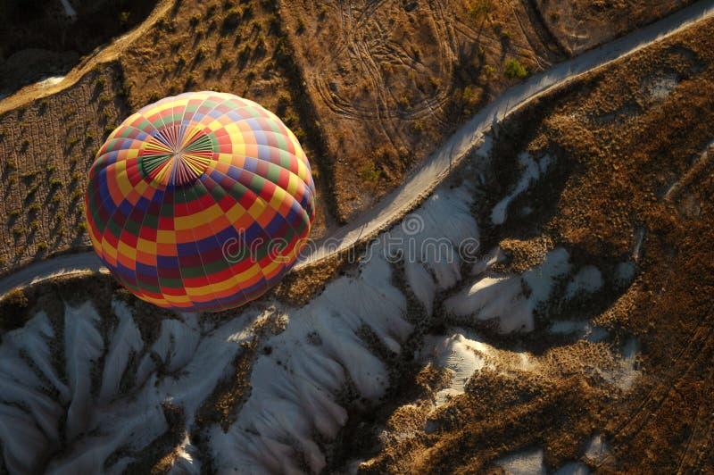 Hete luchtballon - Cappadocia royalty-vrije stock fotografie