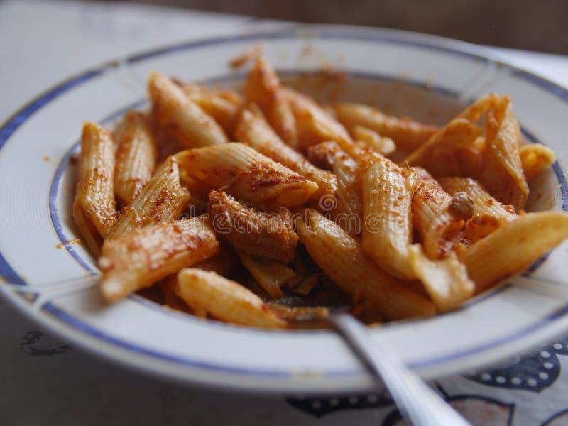 Hete Macaroni stock foto's