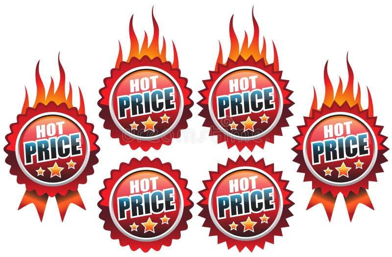 Download Hete prijs vector illustratie. Afbeelding bestaande uit zaken - 18176168