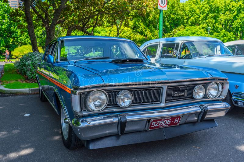 Hete staaf Ford Fairmont stock afbeelding