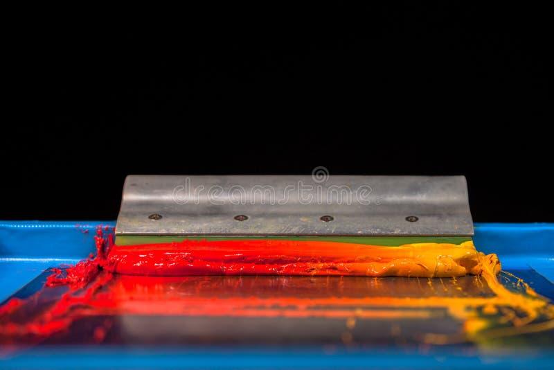 Hete toon van kleur stock foto's