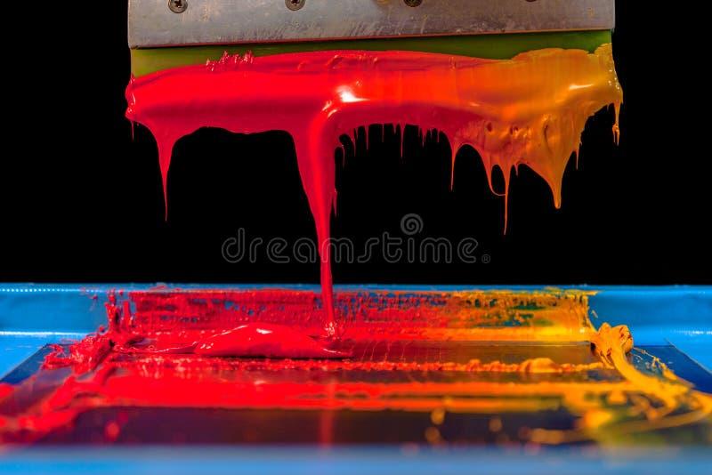 Hete toon van kleur stock afbeelding