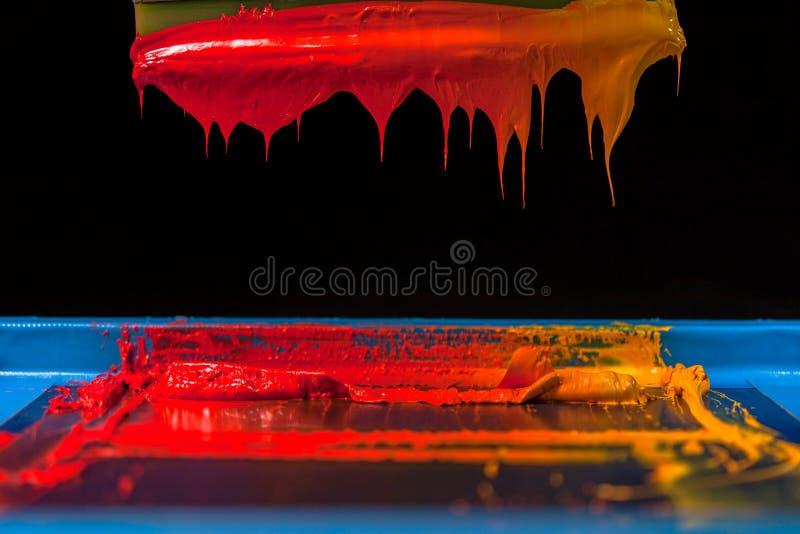 Hete toon van kleur stock afbeeldingen
