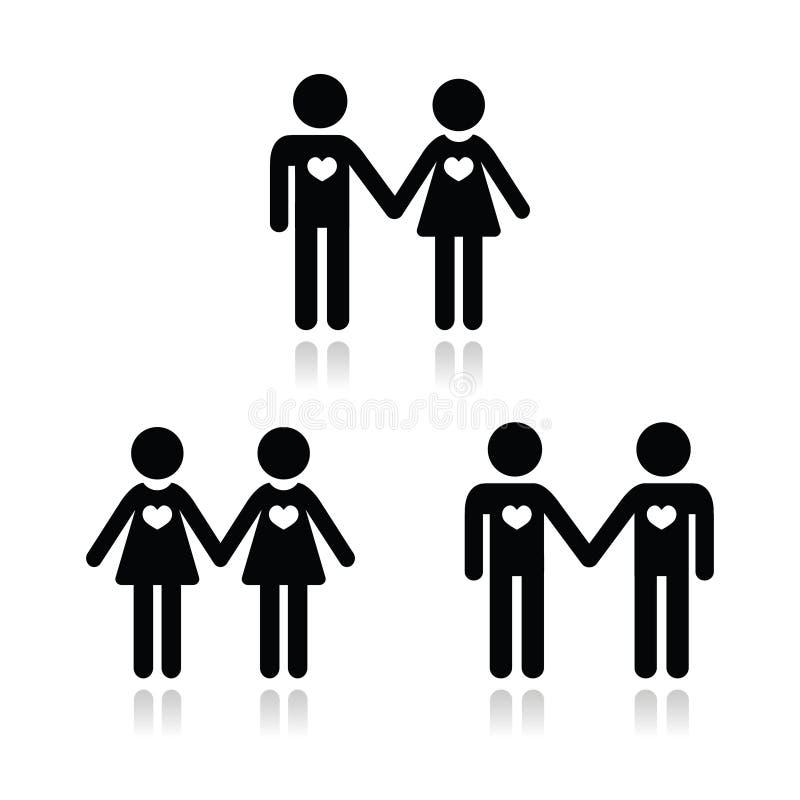 schwarze lesbische Verbindung