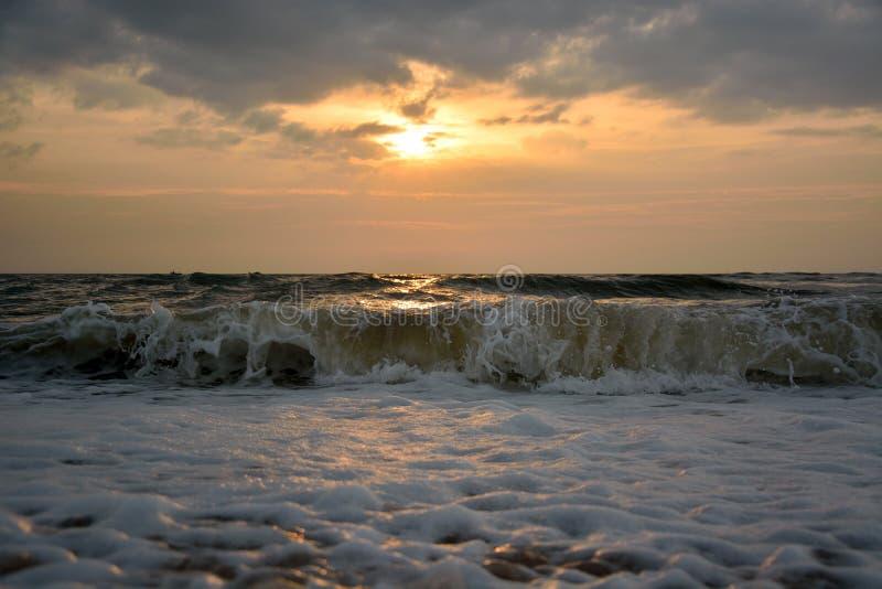 Hetzende Welle stockbilder