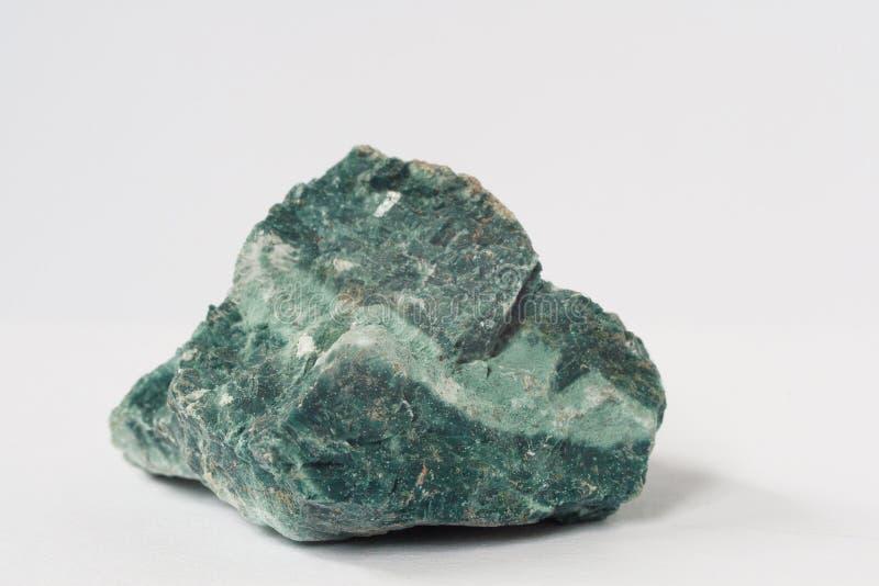 Heulandite mineral on white background stock photos
