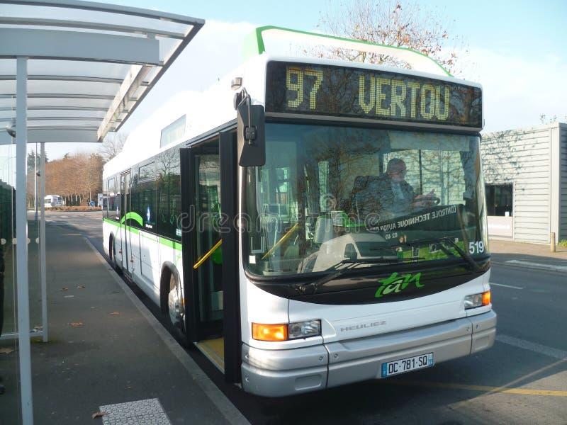 Heuliez GX 317 GNV n°519 TAN - Nantes (44) image stock
