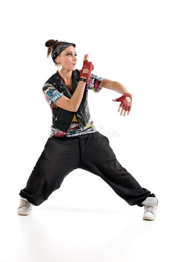 Heup-hop danser stock afbeelding