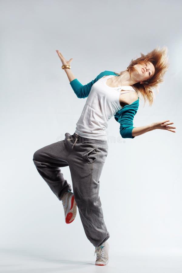 Heup-hop danser stock fotografie